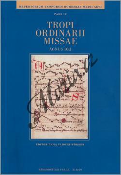 Vlhová-Wörner Hana | Tropi ordinarii missae. Agnus Dei /Repertorium troporum, pars IV/ | Partitura - Noty pro sbor - H8030.jpg