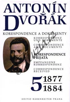 Kuna Milan a kol. | Antonín Dvořák - Korespondence a dokumenty 5-8 | Kniha - H81004.jpg