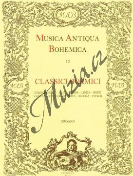 Album   Classici boemici - 1. díl   Noty na varhany - H814.jpg