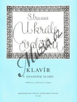 Strauss Johann | U krále valčíku (10 nejoblíbenějších valčíků pro klavír v snadném slohu) | Noty na klavír - H890.jpg