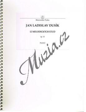 Dusík Jan Ladislav | Dvanáct melodických etud | Noty na klavír - Autorizovaná kopie! - H907.jpg
