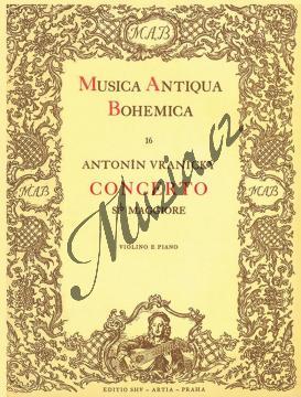 Vranický Antonín | Concerto Si(b) maggiore | Klavírní výtah - Noty na housle - H916.jpg