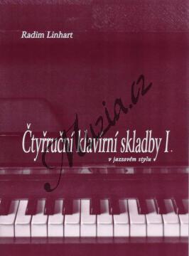 Linhart Radim   Čtyřruční klavírní skladby v jazzovém stylu 1. díl   Noty na klavír - Lx020.jpg