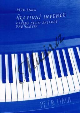 Fiala Petr | Klavírní invence (1980) - Cyklus šesti skladeb pro klavír | Noty na klavír - Lx023.jpg