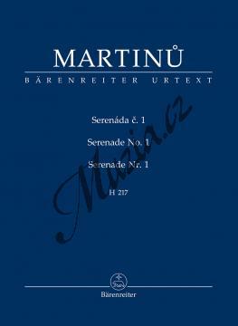Martinů Bohuslav | Serenáda č. 1 - H217 | Partitura - Noty-komorní hudba - TP441.jpg