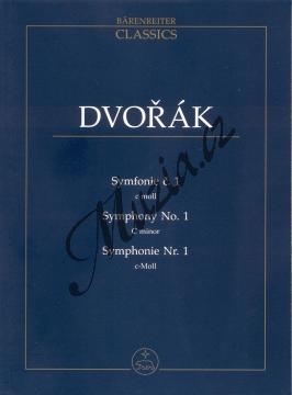 Dvořák Antonín | Symfonie č. 1 c moll | Studijní partitura - Noty pro orchestr - TP501.jpg