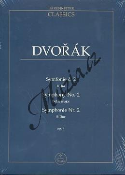 Dvořák Antonín | Symfonie č. 2 B dur op. 4 | Studijní partitura - Noty pro orchestr - TP502.jpg