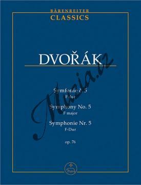 Dvořák Antonín | Symfonie č. 5 F dur op. 76 | Studijní partitura - Noty pro orchestr - TP505.jpg