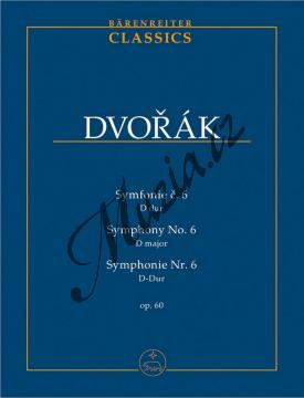 Dvořák Antonín | Symfonie č. 6 D dur op. 60 | Studijní partitura - Noty pro orchestr - TP506.jpg