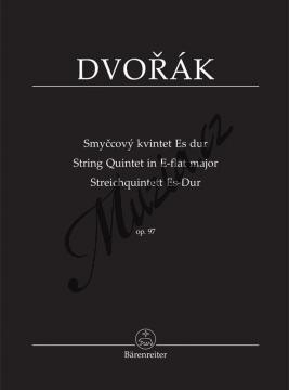 Dvořák Antonín | Smyčcový kvintet Es dur op. 97 | Studijní partitura - Noty pro smyčcový kvintet - TP532.jpg