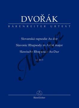 Dvořák Antonín | Slovanská rapsodie As Dur op. 45/3 | Studijní partitura - Noty pro orchestr - TP543.jpg