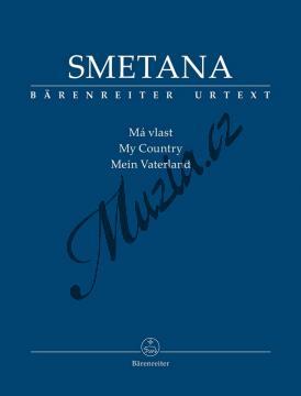 Smetana Bedřich | Má vlast | Studijní partitura - Noty pro orchestr - TP557.jpg