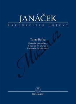 Janáček Leoš | Taras Bulba (Rapsodie pro orchestr) | Studijní partitura - Noty pro orchestr - TP842.jpg