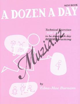 Burnam Edna-Mae   A Dozen a Day, Sešit 0 - Mini Book   Noty na klavír - WMR000407.jpg
