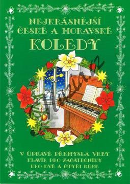 Vrba Přemysl | Nejkrásnější české a moravské koledy v úpravě Přemysla Vrby pro dvě a čtyři ruce | Noty na klavír - mcheb014.jpg