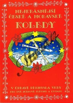 Vrba Přemysl | Nejkrásnější české a moravské koledy v úpravě Přemysla Vrby pro dvě zobcové flétny a kytaru | Noty na zobcovou flétnu - mcheb016.jpg