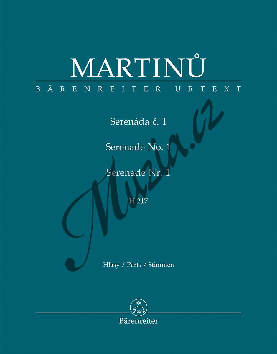 Bohuslav Martinů | Serenáda č. 1